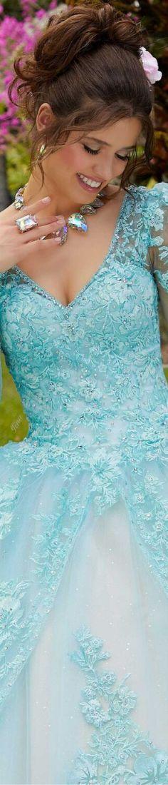 Shades Of Turquoise, Aqua Blue, Madeline Gardner, Elegant Woman, Color Azul, Formal Dresses, Mint, Beautiful, Fashion