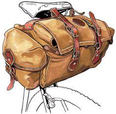 Bike bag sketch...nice!