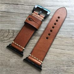 Apple Watch Bands Fashion, Apple Watch Bands 42mm, Apple Watch Leather Strap, Leather Watch Bands, Cool Watches, Watches For Men, Popular Watches, Stylish Watches, Casual Watches