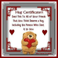 valentine week hug day