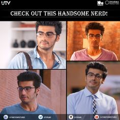 #ArjunKapoor brings the nerdy look back in fashion with #2States. Tell us what you think about it?