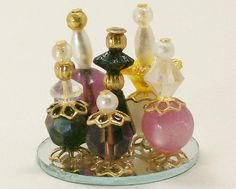 Dollhouse Miniature Perfume Bottle Collection by dalesdreams, $19.00