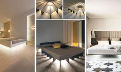 31 Stylish Floating Bed Design Ideas