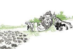 The Cowardly Lion, by W.W. Denslow