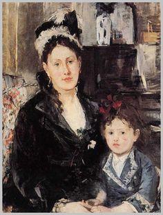 Obras de la pintora francesa Berthe Morisot
