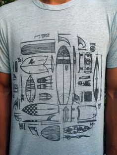 Tools of the Trade - surf t-shirt