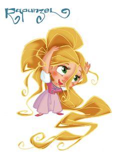 Little Rapunzel by David Gilson