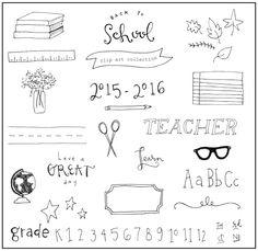 Fun freebie: Back to school clip art