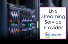 If you are looking for #LiveStreaming service provider; with #Phando_video you can reach out relevant audience with live streaming. With amazing features you have customised solutions to meet your business need. For details visit: http://www.phando.com/home/features/