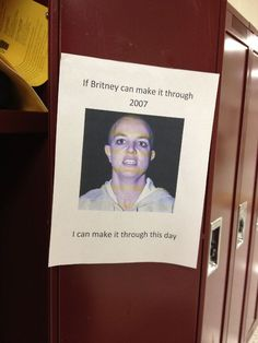 If Britney can do it, so can you.