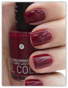 Korres Nail Colour Deep Red 57..... omg love this color