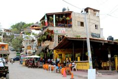 sayulita, mexico. a small art/surf town. a paradise an hour from puerto vallarta. simple yet lively town