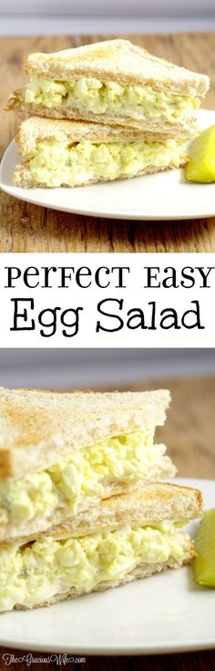 Classic Egg Salad 2019 This easy Classic Egg Salad Recipe is a creamy cool delight that's great for sandwiches for an easy lunch or dinner. So creamy and delicious! The post Classic Egg Salad 2019 appeared first on Lunch Diy. Classic Egg Salad Recipe, Classic Recipe, Egg Salad Sandwiches, Recipe For Egg Salad, Egg Sandwich Spread, Egg Salad Recipes, Egg Salad Sandwich Recipe Healthy, Healthy Egg Salad, Easy Egg Recipes
