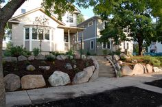 What to do with a Sloping Front Yard? - Tree Service | Landscaping | Minneapolis, MN | 612-532-9996