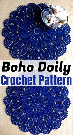 Free Crochet Doily Patterns,Crochet Boho Doily Pattern Free Crochet Doily Patterns To Beautify Your Home Free Crochet Doily Patterns, Crochet Doily Rug, Crochet Dollies, Thread Crochet, Filet Crochet, Crochet Crafts, Tatting Patterns, Slip Stitch Crochet, Crochet Collar