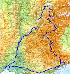 2014 - Route des grandes Alpes (France) en camping-car