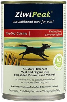 ZIWI PEAK 210038 Venison Can Dog Food, 13-Ounce by ZiwiPeak -- See this great product.