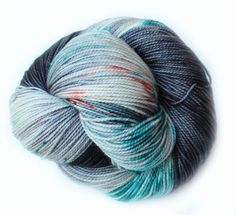 Koi Pond • Firm twist for plump, well defined stitches • Full of spring and bounce • Incredibly soft and squishy  • 80% Superwash Merino, 20% Nylon • 2 Ply Fingering/Sock • 400 yds/365 m • 3.5 oz/100 gr • Recommended Needle: US 1-3 (2.25-3.25 mm) • Recommended Hook: US B1-E4 (2.25-3.5 mm)