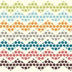 Polka Dance - Safari Soiree - Birch Organic Cotton Fabric Fat Quarter #BirchFabrics