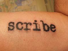 typewriter font tattoo arm - Google Search
