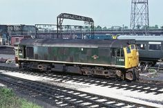 D5193 (later 25043) at Crewe (Glawster Old Spot via Flickr)