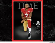 Colin Kaepernick on time magazine cover