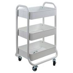 $30 Storage Cart - For the office! White - Room Essentials™ : Target