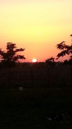 Szentes naplemente :)