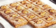 Печенье с яблоками и грецкими орехами