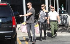 Heidi Klum and boyfriend Martin Kristen go grocery shopping together. The pair started at Whole Foods and continued shopping at Vicente Foods in Brentwood on January 20, 2013