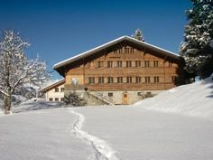 Our Chalet, Adelboden, Switzerland. World Association of Girl Guides and Girl Scouts. You have to want to get there (train, bus, hike), but when you do get there...stunning.