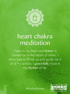 Truly listen to your heart with this harmony-inspiring chakra meditation. #chakrajourney