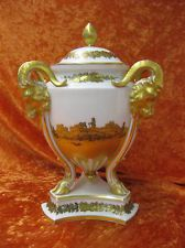 Rosenthal designed this lidded vase. Painted by A. Art Deco, Gold, Ebay, Ceramics, Vases, Ph, Pottery, China, Crystal