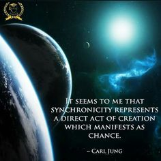 """Carl Jung coined the word """"synchronicity"""" to explain meaningful coincidences."""