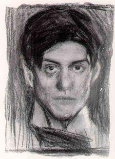 Pablo Picasso. Self-portrait. 1899-1900.