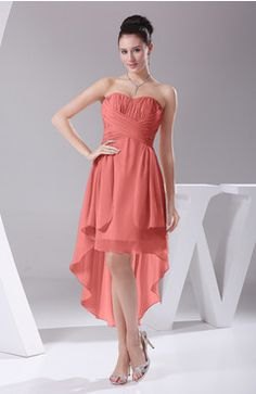 maid of honor dresses coral