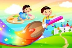 juegos de risoterapia Murals For Kids, Art Wall Kids, Mural Wall Art, Art For Kids, School Board Decoration, School Decorations, Cartoon Wall, Cartoon Kids, Diwali Drawing