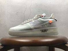 c1161a2c33c Chaussures de sport Off-White blanc x Nike Air Force 1 Low White blanc-Sail Youth  Big Boys Shoes