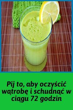 Pij to, aby oczyścić wątrobę i schudnąć w ciągu 72 godzin Apple Cider Vinegar Morning, Sante Bio, Raw Honey, Cantaloupe, Pudding, Yummy Food, Fruit, Healthy, Ethnic Recipes