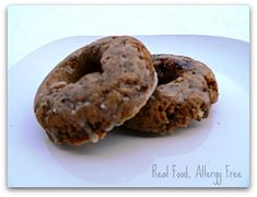 Allergy-Friendly Spiced Cake Donuts (Dairy-free, Egg-free, Nut-free, Soy-free, Gluten-free, Wheat-free) @ Real Food, Allergy Free