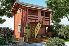 Luhtiaitta - Kimara Style At Home, Guest Cabin, She Sheds, Viera, Home Fashion, Tiny House, Home And Garden, House Styles, Outdoor Decor