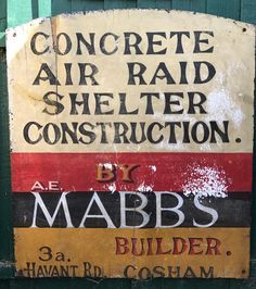 Interesting sign Air Raid, Portsmouth, Memories, Signs, Memoirs, Souvenirs, Shop Signs, Remember This, Sign