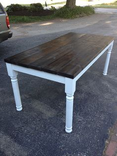Farm House Table Country Rustic Style FREE by FallenStarFurniture, $599.00