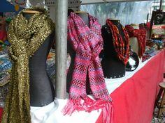 Tecelagem artesanal - Handweaving!  Special texture, special colors by Pancho Pinsag.