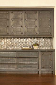 Industrial Cabinets - Contemporary - dining room - Taylor Borsari