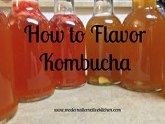 HOW-TO VIDEO: Flavoring & Bottling Kombucha Tea