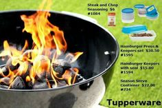 GREAT FATHER'S DAYS GIFTS ! ! !  SUMMER TIME IS HERE THAT FUN TIME OF YEAR TO GRILL BY THE POOL,  OR AT THE  LAKE,  ORDERS YOURS TODAY AT  Www.my.tupper.com\cristihendrickson  OR MESSAGE ME  !