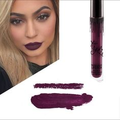 Kourt K Lip Kit by Kylie Jennrt Pre-Order. Brand New Lip Kit in shade Kourt K. Super pretty dark purple color. Kylie's formula is excellent and this will soon become your favorite lipstick. I will ship as soon as it arrives to me. Which should be soon. I will keep you updated. Also available offsite  Kylie Cosmetics Makeup Lipstick