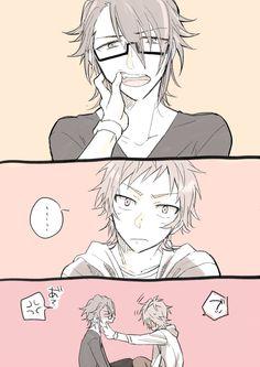 Ja I Moe é caninos de Fushimi-kun