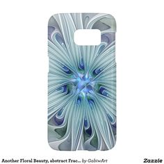 Another Floral Beauty, abstract Fractal Art Samsung Galaxy S7 Case